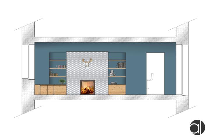 rénovation d'un manoir - intérieure