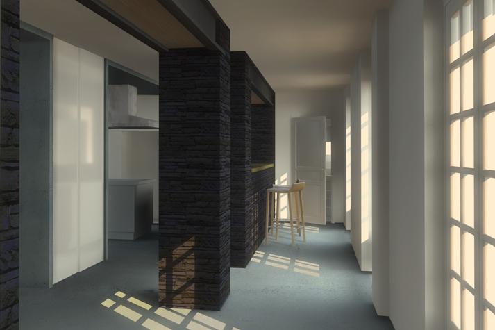 r novation d 39 un manoir aur lie lemoine architecte. Black Bedroom Furniture Sets. Home Design Ideas