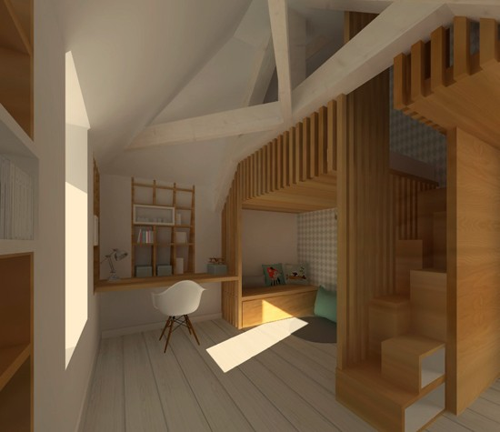 Am nagement int rieur archives aur lie lemoine architecte for Amenagement interieur d une maison
